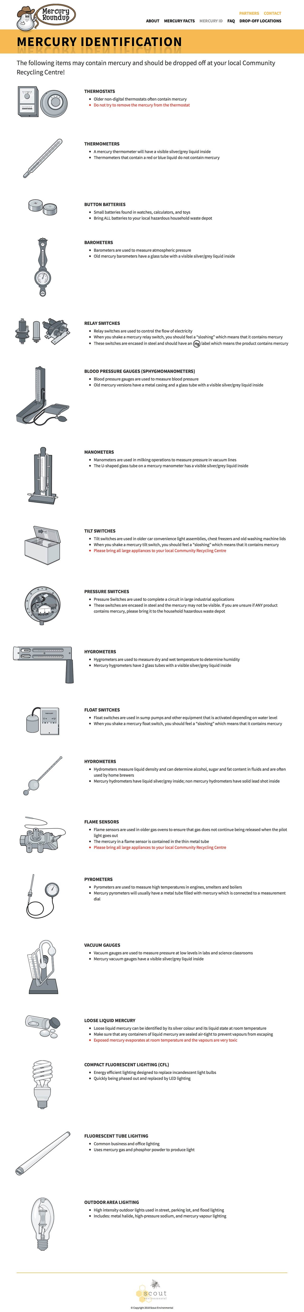 Mercury Identification Desktop